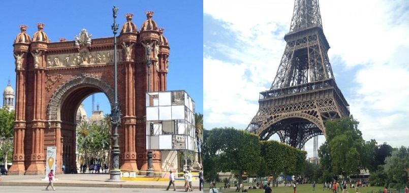 Mon itinéraire Paris-Barcelone (10 jours)