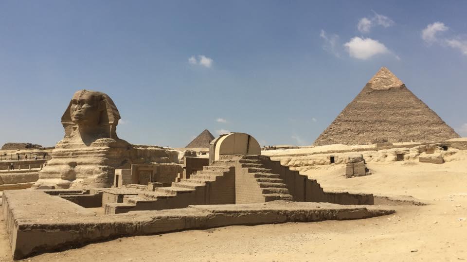 Mon voyage en Égypte