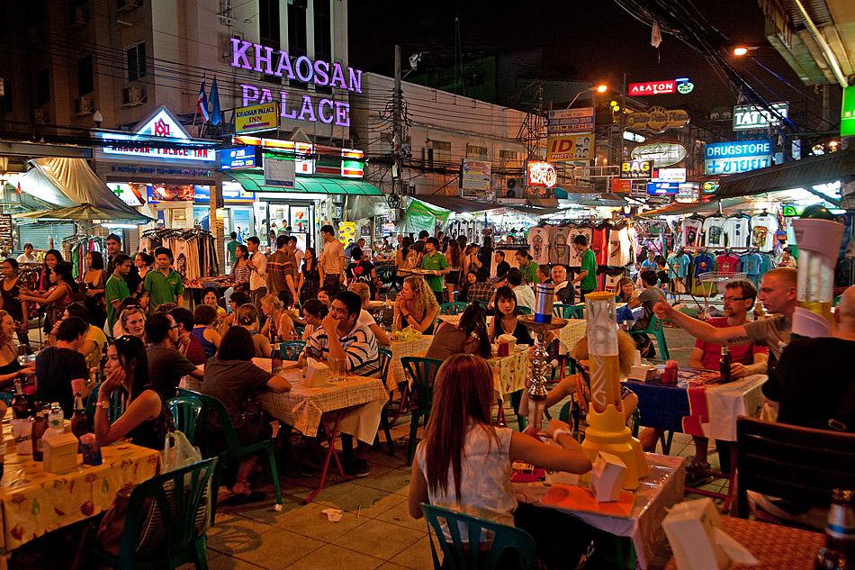 Khao san road bangkok 1