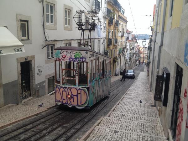 Tram-way Lisbonne