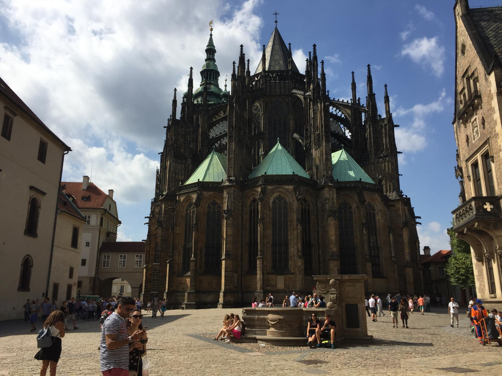 Pra cathedrale gothique