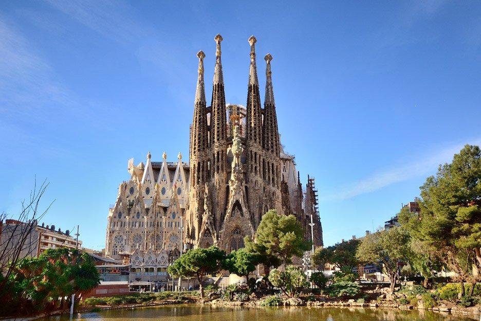 Où se trouve la Sagrada Familia?